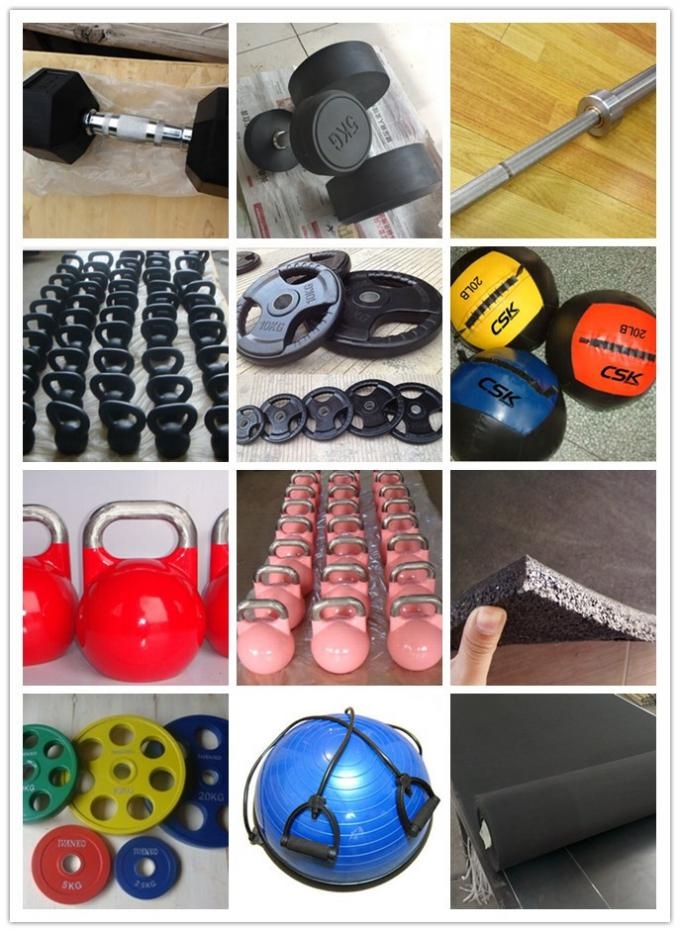 Plastic Dipped Kettlebell Fitness Equipment Accessories With Rubber Coated