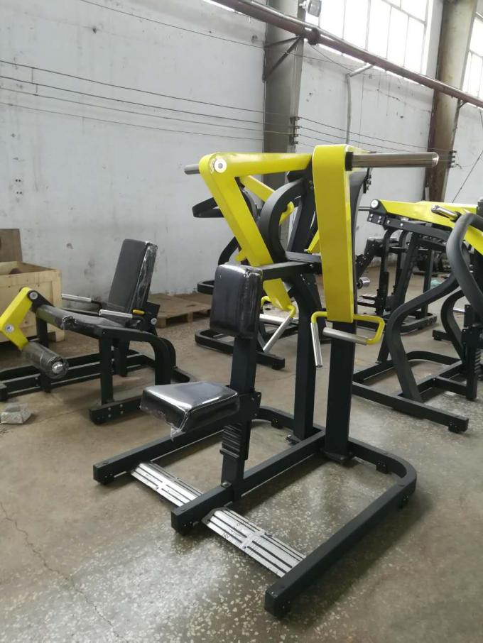 Professional Plate Loaded Seated Low Row Machine For Health Club Gym