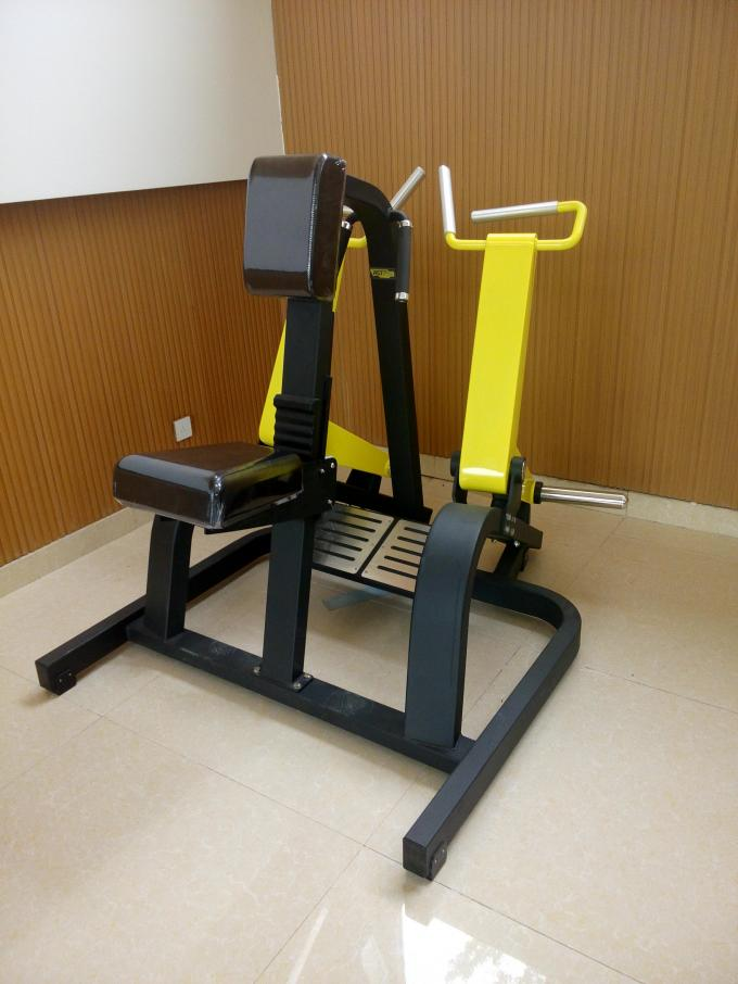 167kgs Plate Loaded Row Machine 1190*1380*1300mm With Independent Arms