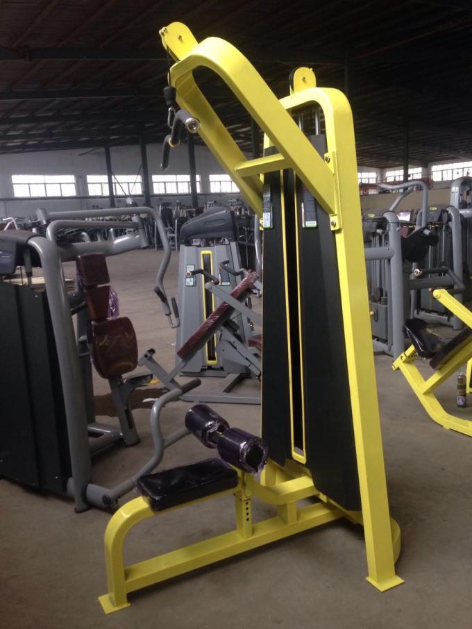 Multi Exercise PullDown Gym Machine / Commercial Fitness Equipment With Customer Logo