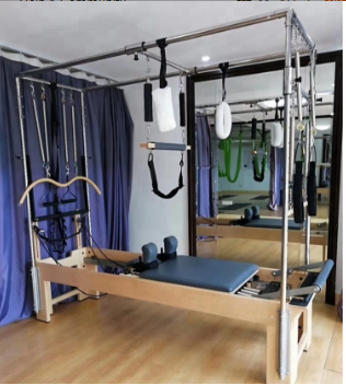 Single Looped Handles Steel Yoga Exercise Equipment For All Ability Levels