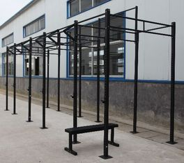 China Metal Tube Crossfit Squat Rack , 2.7m Exercise Equipment Accessories supplier