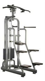 China Power Training Assisted Strength Fitness Equipment Chin Up / Dip Machine supplier