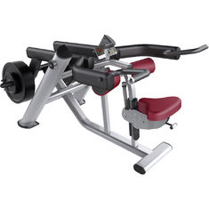 China 110kg Seated Dip Machine , Pin Loaded Commercial Exercise Equipment supplier
