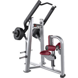 China Body Strong Fitness Front Pull Down Machine , Steel Frame Gym Equipment Machines supplier