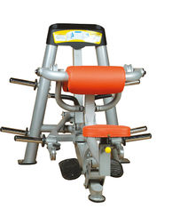 China Gym Club Sport Plate Loaded Machines , 165kg Seated Bicep Curl Machine supplier