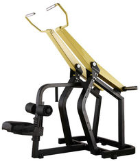 China Professional Yellow Hammer Strength Plate Loaded Gym Equipment / Pull Down Machine 152kg supplier