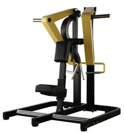 China Professional Plate Loaded Seated Low Row Machine For Health Club Gym supplier