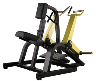 China 167kgs Plate Loaded Row Machine 1190*1380*1300mm With Independent Arms supplier