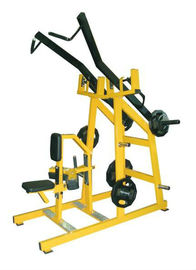 China Customized Color Plate Loaded Exercise Equipment , 175kg Iso Lateral Wide Pulldown Machine supplier