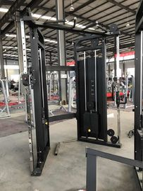 China PU Leather Fitness Exercise Equipment , Weightlifting Functional Trainer Machine supplier