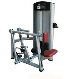China Body Strong Attractive Physical Fitness Equipment / Seated Row Machine For Health Training supplier