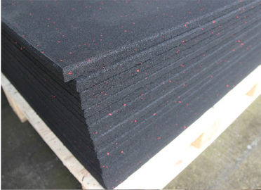 China Non Glare Rubber Flooring Material , Heat Insulation Rubber Floor Mats supplier