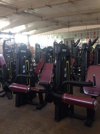 China Custom Printed Logo Physical Fitness Equipment Leg Extension Gym Machine supplier