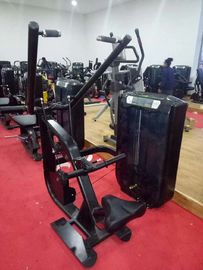 China Steel Commercial Pin Loaded Gym Equipment , Affordable Exercise Equipment supplier