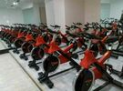 China Power Training Hammer Spinning Bike & Body Exercise Gym Bike Wooden Box Packing factory