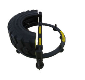 China Tire Flip Machine / Elliptical Fitness Equipment Electrostatic Spraying Powder Coated distributor