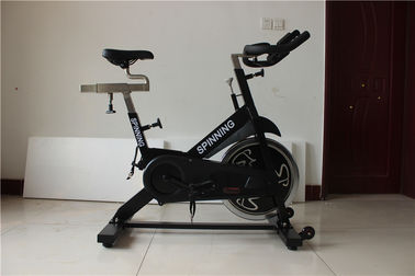 China Dipping Handlebar Aerobic Exercise Machines , Indoor Cycling Bikes With 22kg Flywheel factory