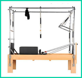 China Cadillac Pilates Yoga And Pilates Equipment 2380*750*730mm With Full Tower distributor
