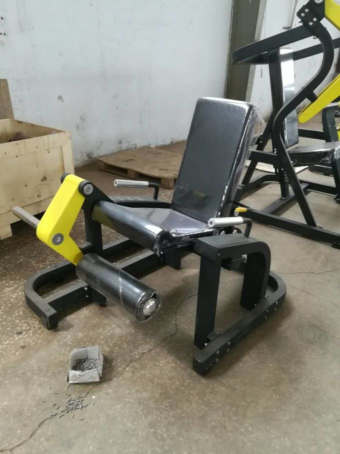 Professional Plate Loaded Gym Fitness Equipment For Leg Exercise Training